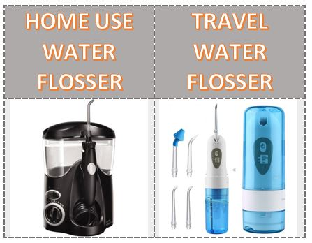 Types of Water Flosser