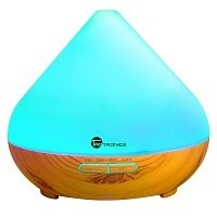 Diffusers for Essential Oils, TaoTronics 300ml Ultrasonic Humidifiers with Wood Grain