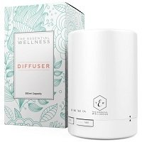The Essential Wellness Essential Oil Diffuser for Aromatherapy & Ultrasonic Cool Mist Humidifier