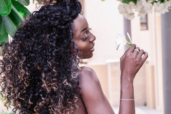 beautiful african american hair